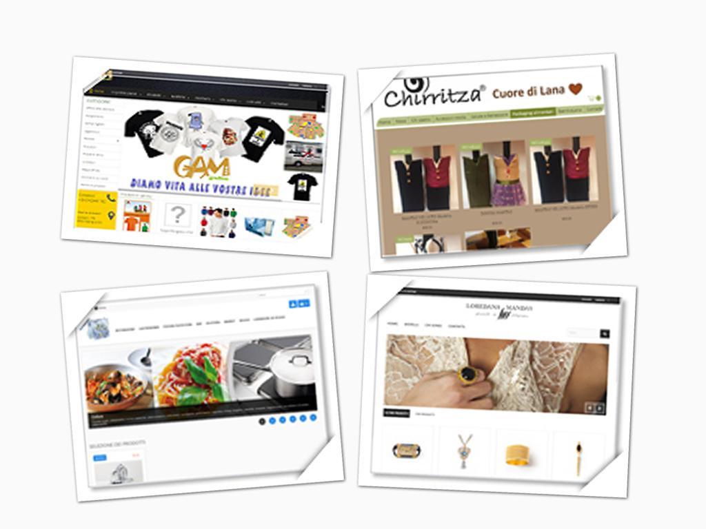 collage copertine siti e-commerce